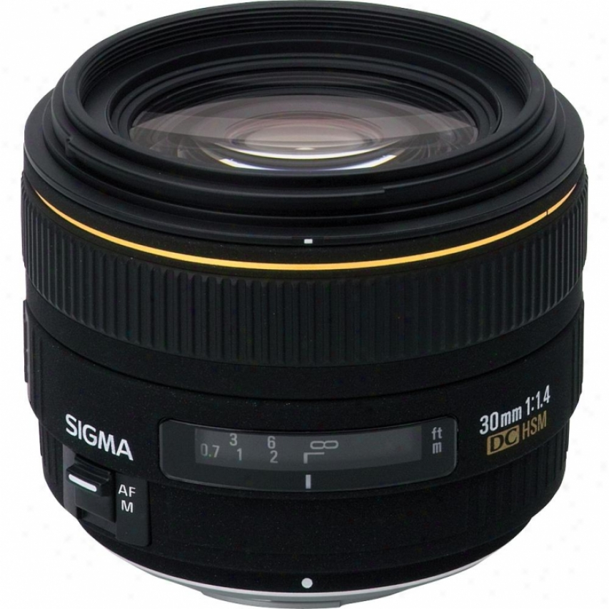 Slgma 30mm F1.4 Ex Dc Hsm Wide-angle Lens For Sony Dslr Cameras