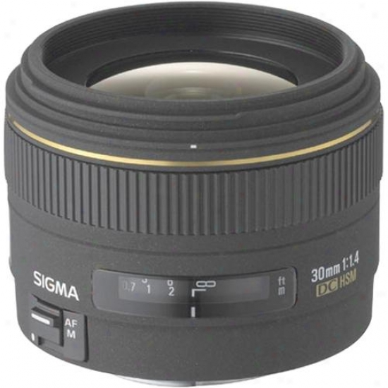 Sigma 30mm F/1.4 Ex Dc Lens For Nikon