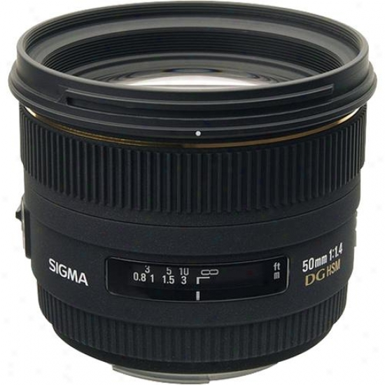 Sigma 50mm F/1.4 Ex Dg Hsm For Canon Digital Slr Camera Ca50mmf1.4