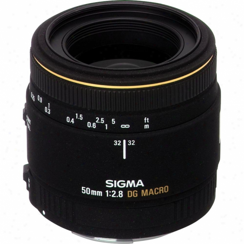 Sigma 50mm F2.8 Ex Dg Hsm Macro Lens For Sony Dslr Cameras
