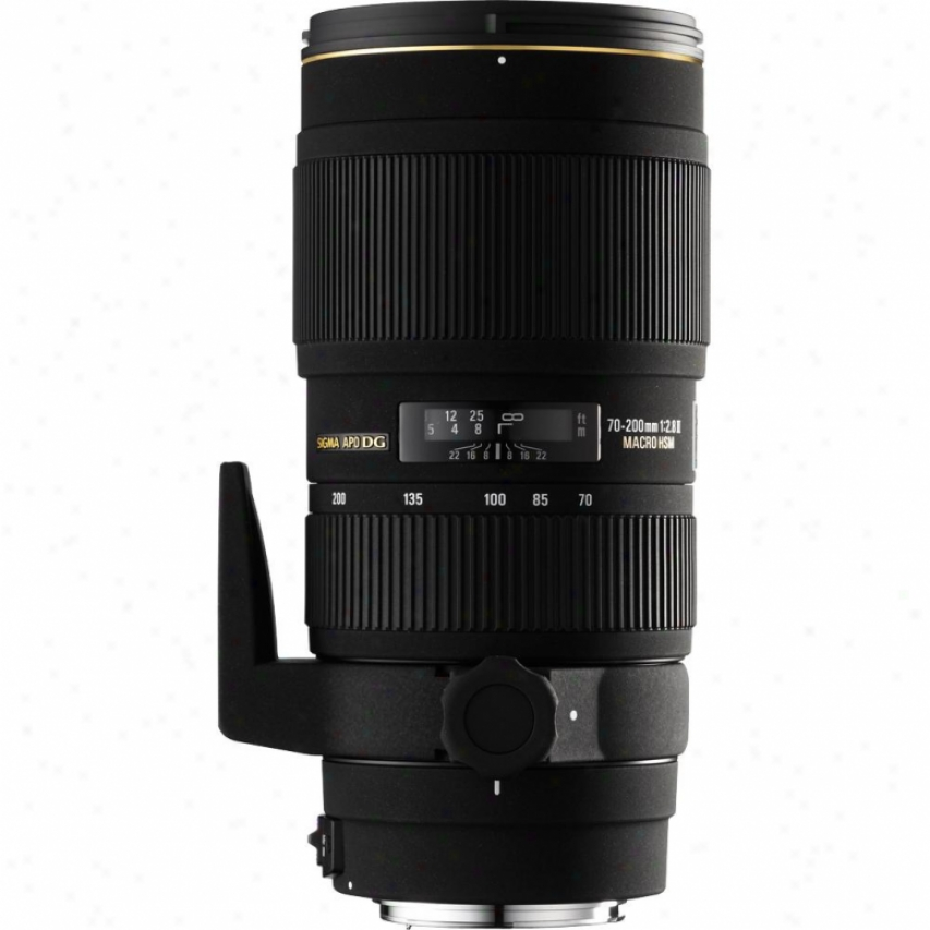 Sigma 70-200mm F2.8 Ex Dg Apo Macro Hsm Ii Telephoto Lens Because Received books of Scripture Dslr Cameras