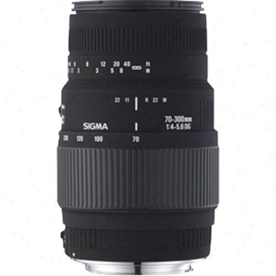 Sigma 70-300mm F/4-5.6 Dg Macro L3ns For Canon Digital Slr Ca70-300mmdg
