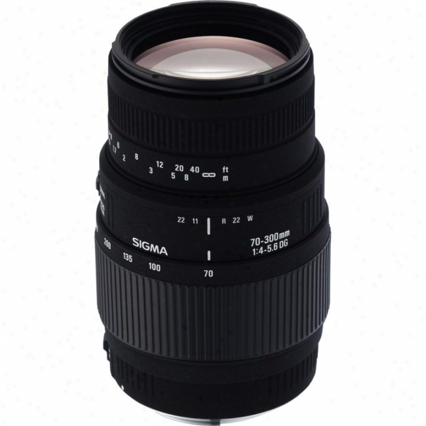Sigma 70-300mm F4-5.6 Dg Macro Telephoto Zoom Lens For Sony Dslr Cameras