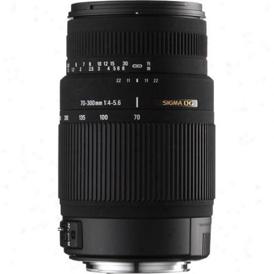 Sigma 70-300mm F/4-5.6 Dg Os Lens - Canon Ca70-300os
