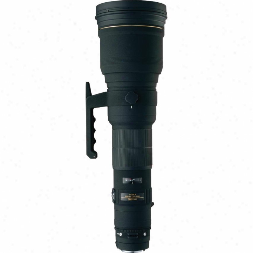 Sigma 800mm F5.6 Ex Apo Dg Hsm Super Telephoto Lens For Nikon Dslr Cameras