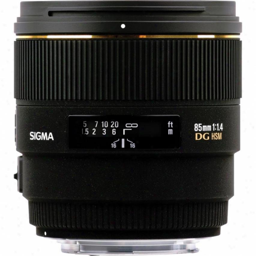 Signa 85mm F1.4 Ex Dg Hsm Standard Prime Lens For Nikon Dslr Cameras