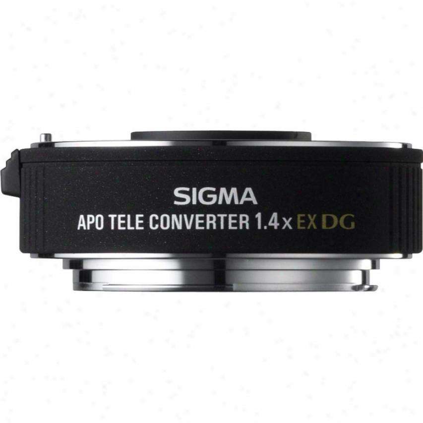 Sigma Apo Telecoverter 1.4x Ex Dg For Sony Lens
