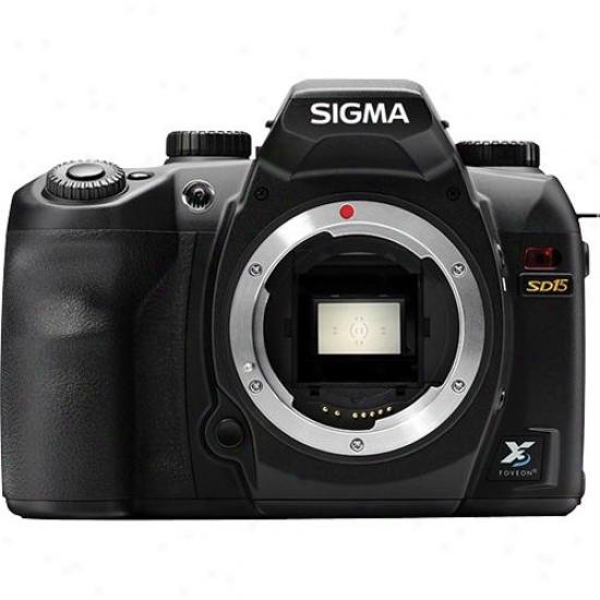 Sigma Sd15 14 Megapixel Digital Slr Camera - Body Only