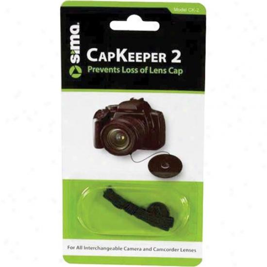 Sima Ck-2 Capkeeper 2 Lens Cap Leash