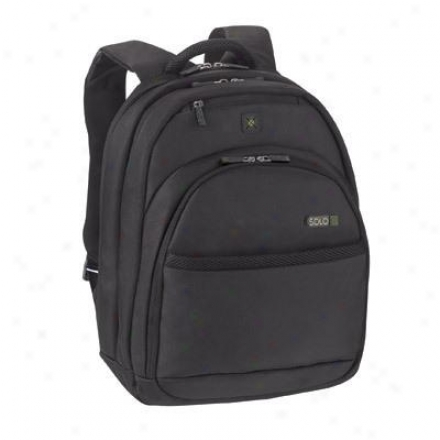"Solo 15.6"" Laptop Convertible Backpack - Black Tca702-4"
