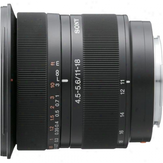 Sony 11-18mm F/4.5-5.6 Lens For Digital Slr Camera - Sal-1118