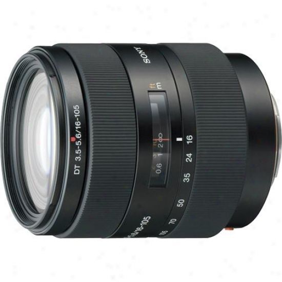 Sony 16-105mm F/3.5- 5.6 Dt® Zoom Lens For Sony-slr Digital Camera - Sal-161