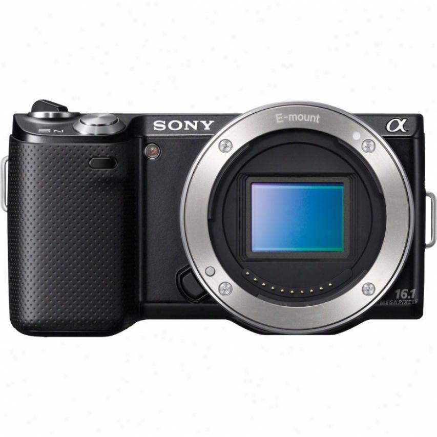Sony 16.1-megapixel Alpha Nex-5n Digital Camera Body - Black