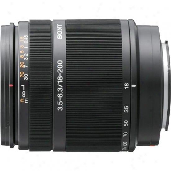 Sony 18-200mm F/3.5-6.3 Lens For Digital Slr Camera - Sal-1800
