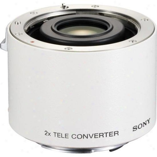 Sony 2.0x G-series Tele-converter Lens - Sal-20tc