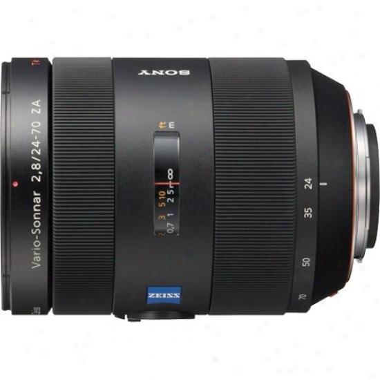 Sony 24-70mm F/2.8 Za Ssm Vario Sonnar Carl Zeiss Zoom Lens - Sal2470x