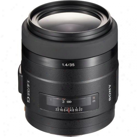 Sony 35mm F/1.4 G-series Wide-angle Lens Sal-35f14g