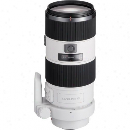Sony 70-200mm F/2.8 G Lens For (alpha) Slr Digital Camera - Sal70200g