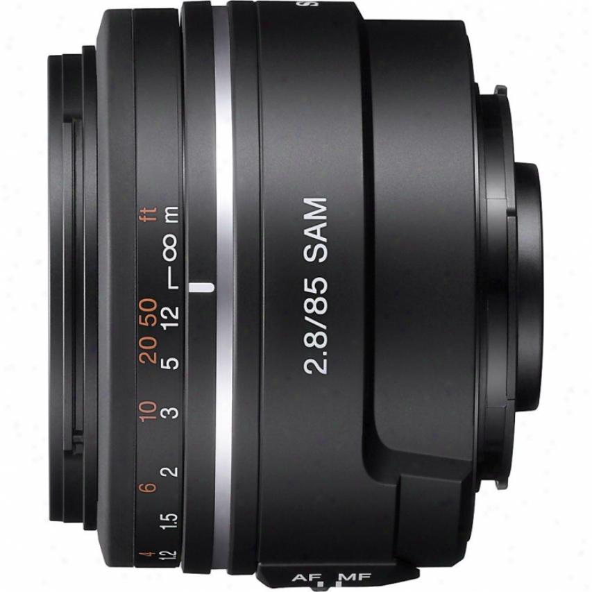 Sony 85mm F/2.8 A-mount Digital Caera Lens - Sal-85f28
