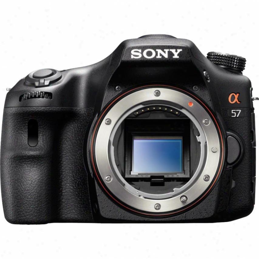 S0n6 Alpha 57 16-megapixel Dslr Camera - Body Only