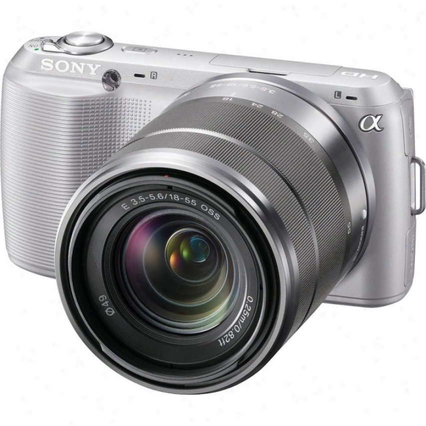 Sony Alpha Nex-c3k/s 16 Meagpixel That may be interchanged Lens Digital Camera - Silver
