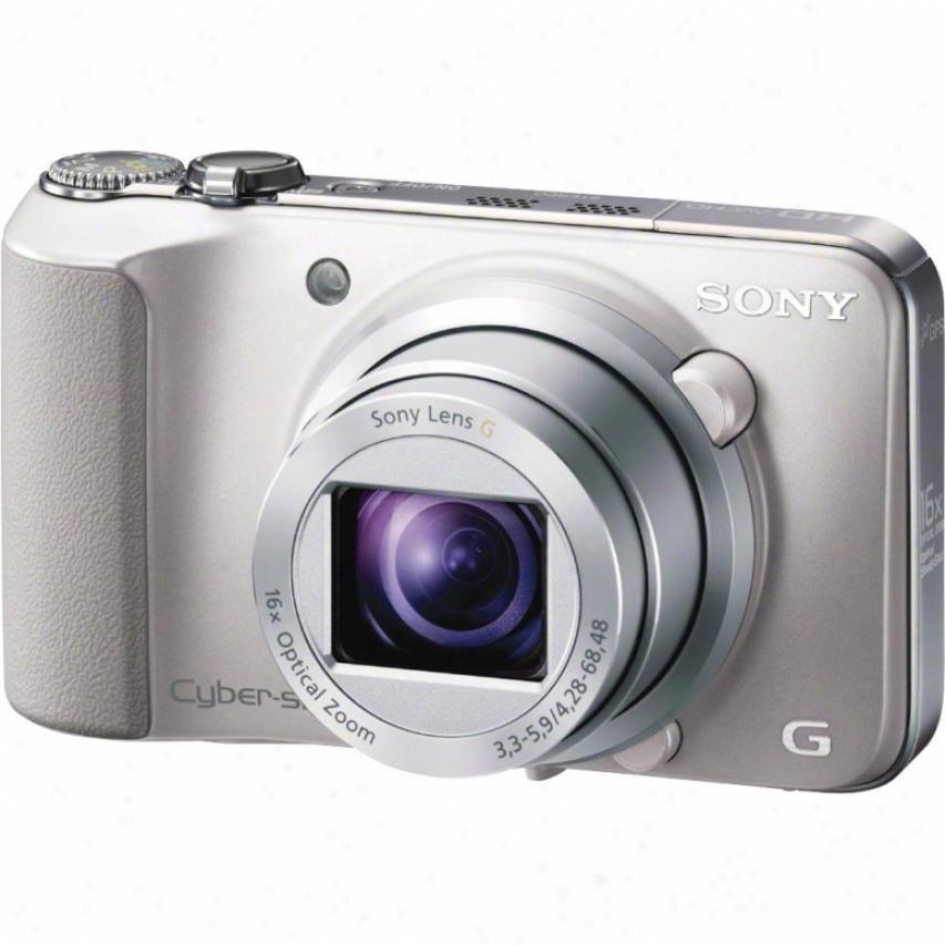 Sony Cyber-shot® Dsc-hx10/v 18 Megappixel Digital Camera - Silver