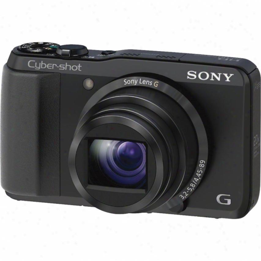 Sony Cyber-shot® Dsc-hc20v/b 18 Megapixel Digital Camera - Black