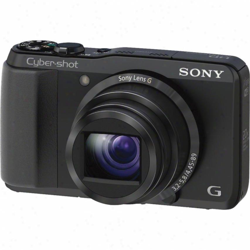 Sony Cyber-shot® Dsc-hx30v/b 18 Megapixel Digital Camera - Black
