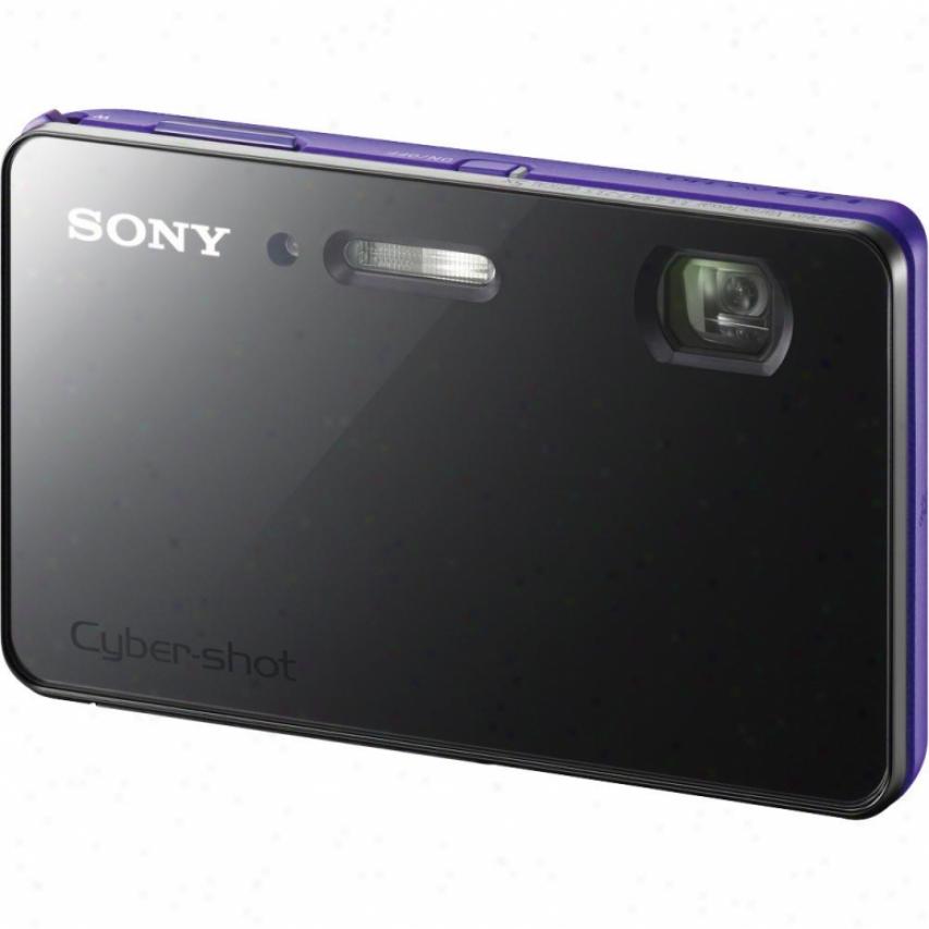 Sony Cyber-shot® Dsc-tx200v/v 18 Megapixel Digital Camera - Violet