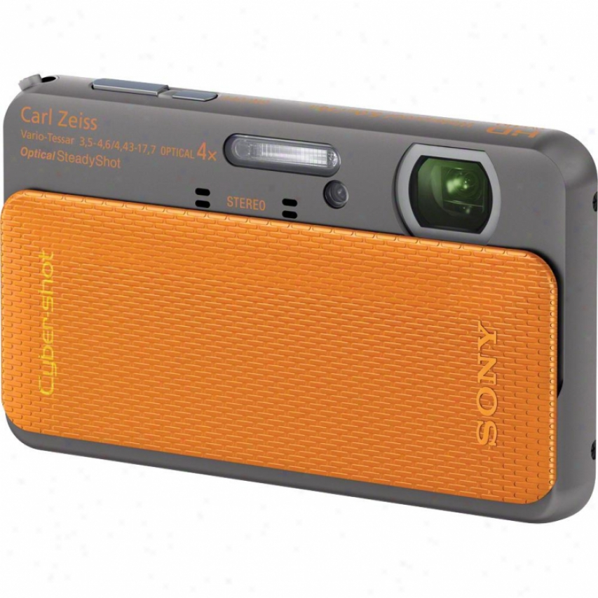 Sony Cyber-shot® Dsc-tx20/d 16 Megapixel Digital Camera - Orqnge