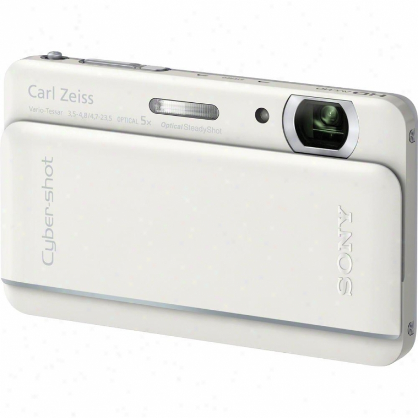 Sony Cyber-shot® Dsc-tx66/w 18 Megapixel Digital Camera - White