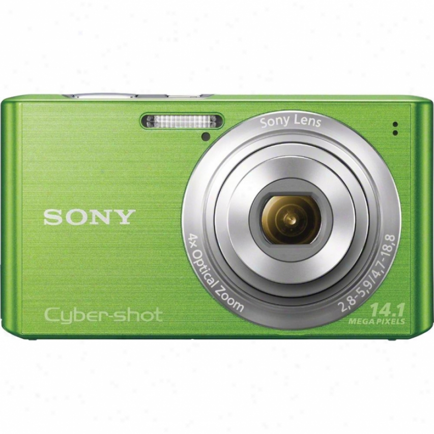 Sony Cyber-shot&rg; Dsc-w610/g 14 Megapixel Digital Camera - Green