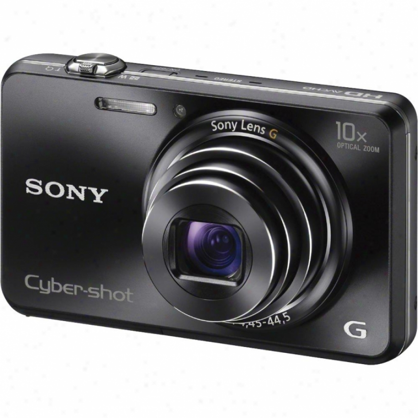 Sony Cyber-shot® Dsc-wx150/b 18 Megapixel Digital Camera - Black