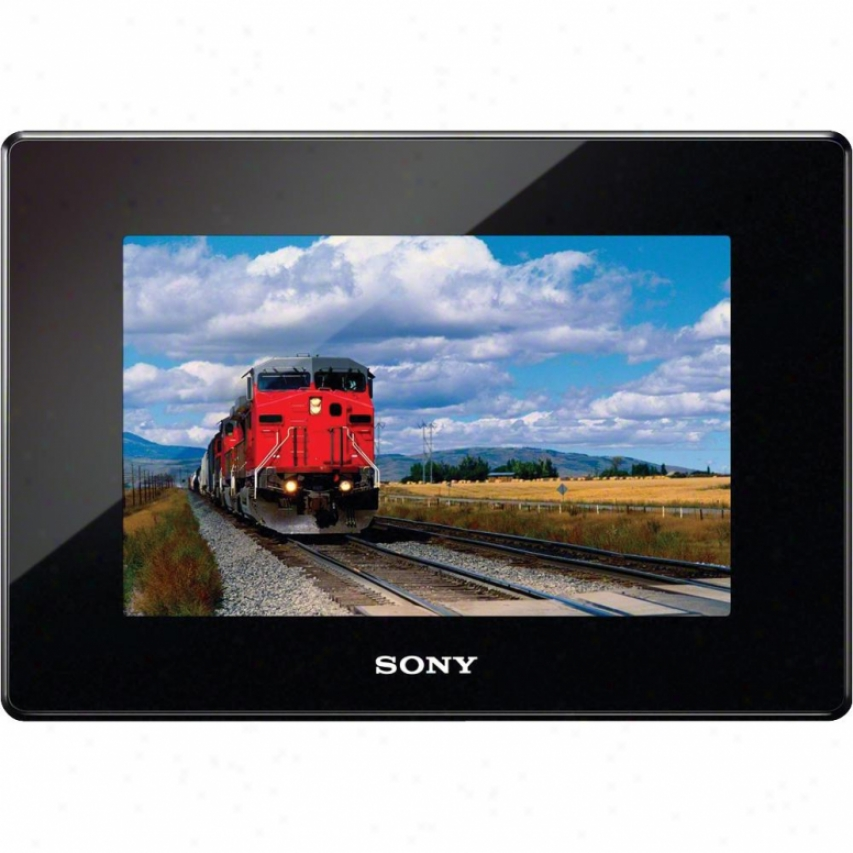 "Sony Dpf-hd700/b 7"" Led Backlit Digital Photo Frame - Black"
