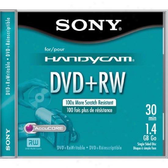 Sony Dpw30l2h 8cm Blank Dvd+rw Handyfam® Disc
