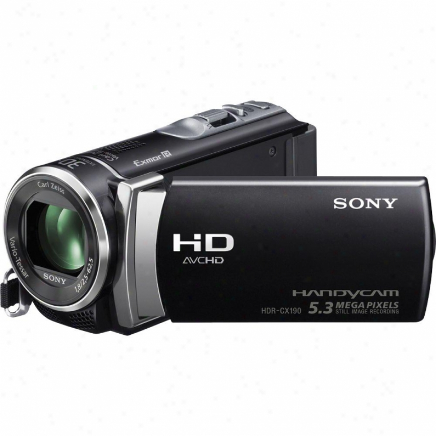 Sony Hdr-cx190 Camcorder - Black