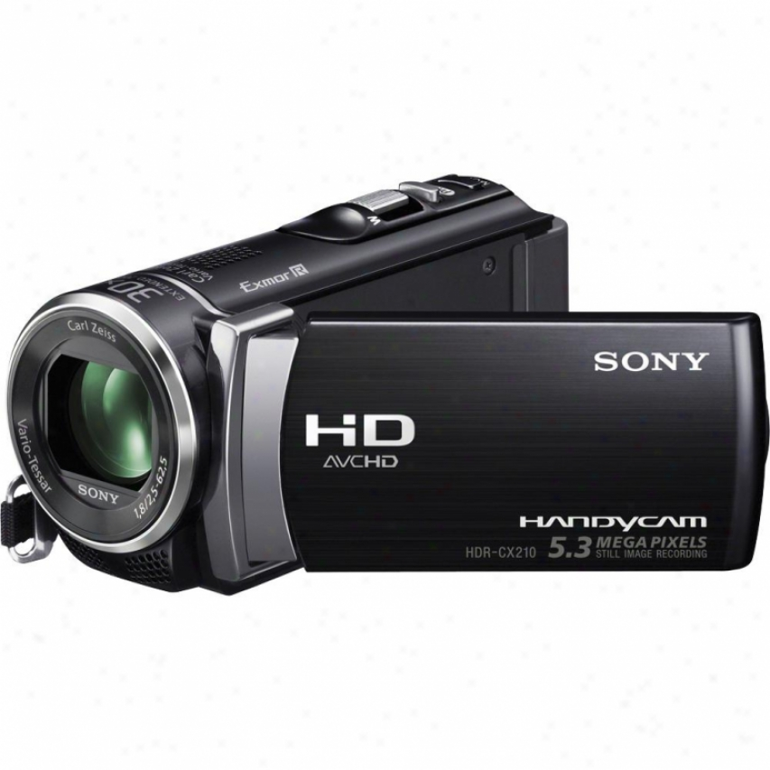 Sony Hdr-cx210 High Definition Handycam® Camcorder Black
