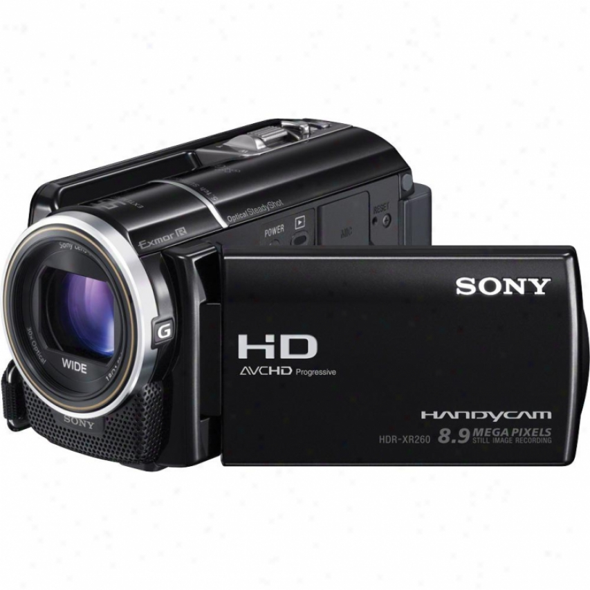 Sony Hdr-xr260v Full Hd 160gb Hdd Camcorder - Black