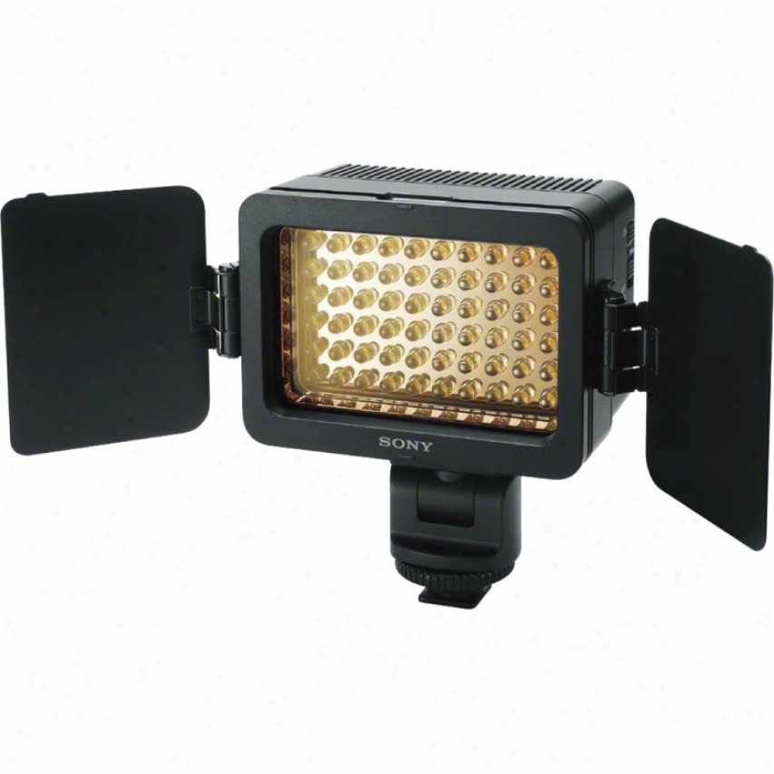 Sony Hvl-le1 Led Video Illuminate For Sony Handycams Or Dslr Cameras