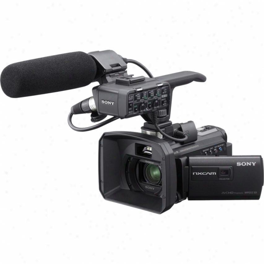 Sony Hxr-nx30u Nxcam Palm Size Full Hd Professlonal Camckrder