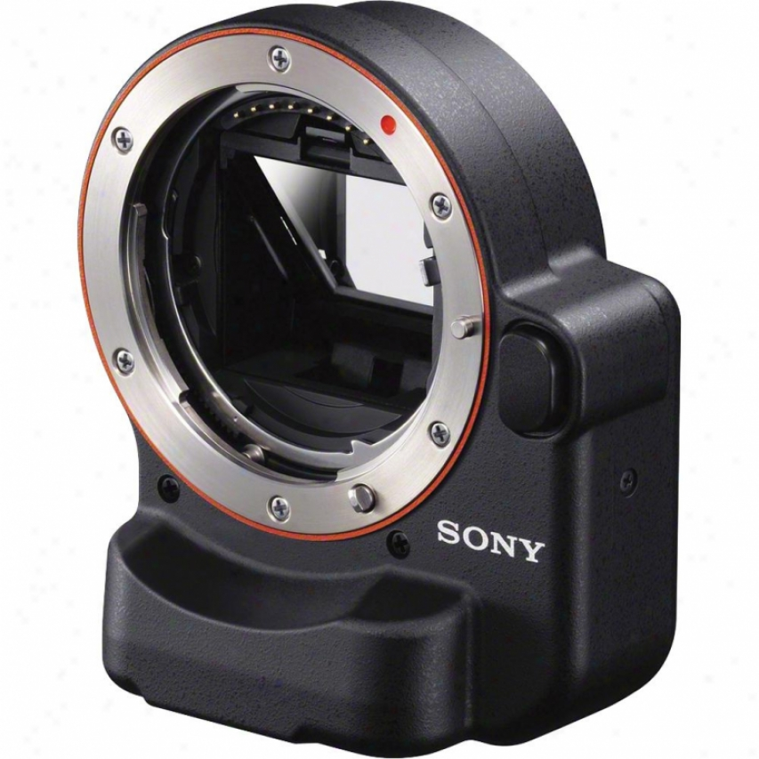 Sony La-ea2 Nex Camera Moont Adaptor For Alpha A-mount Lenses