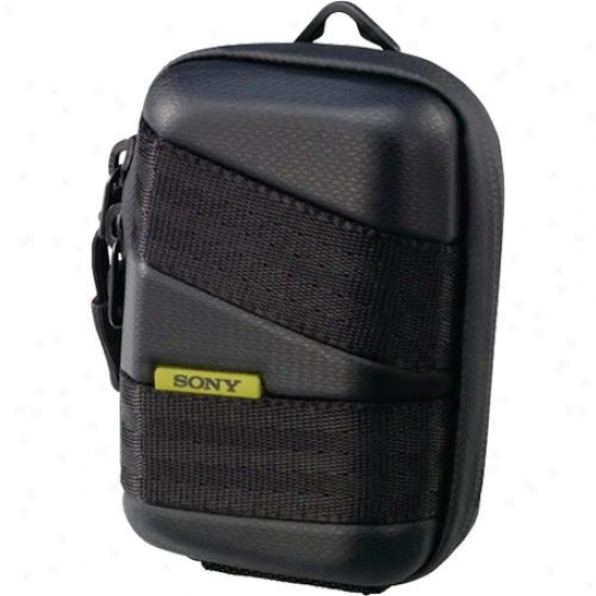 Sony Lcmcsvg/b Semi-haard Case - Black