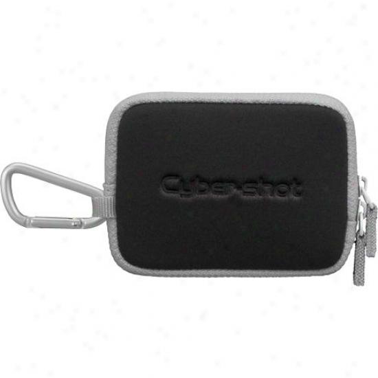 Sony Lcs-twe/b Carrying Case Fro Dsc-t2 - Black