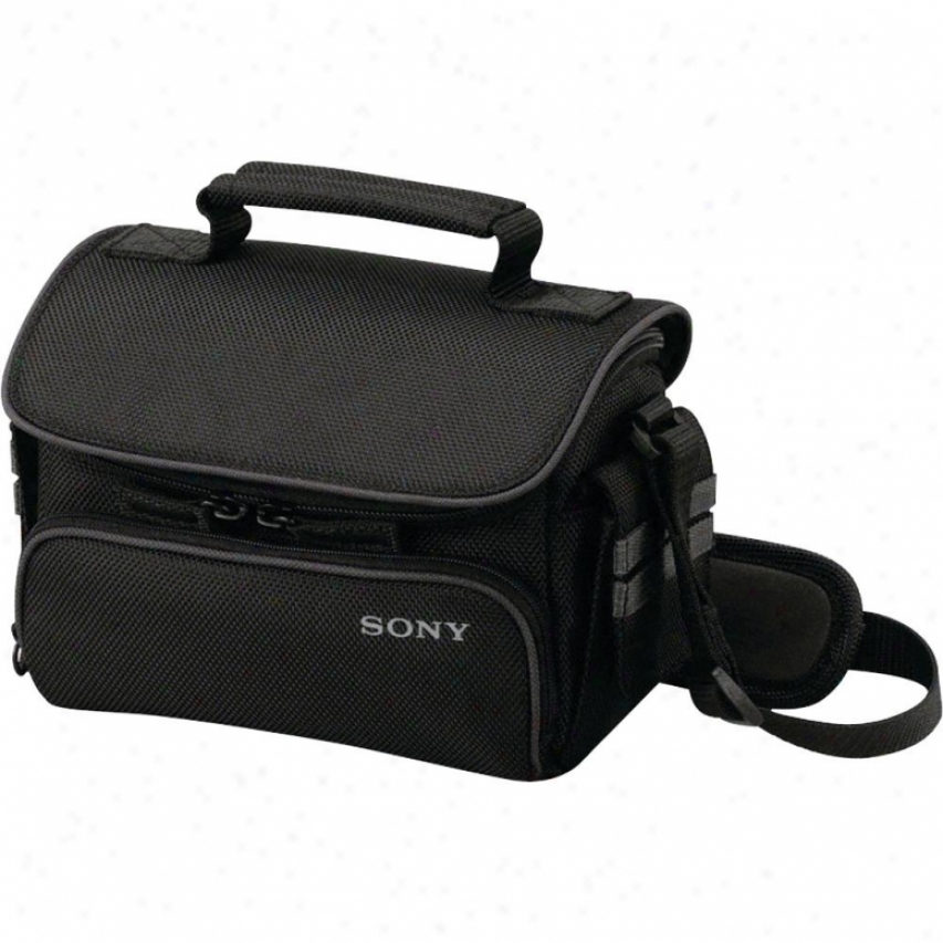 Sony Lcs-u10 Small Soft Camcorder Case
