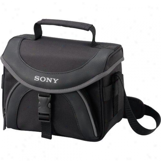 Sony Lcs-x20 Soft Carrying Box For Camcorders