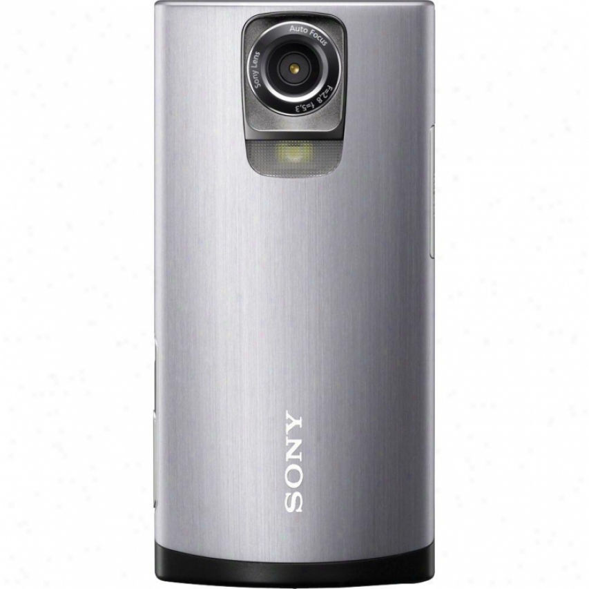Sony Mhs-ts55 Bloggie Live Hd Camera Camcorder Silver