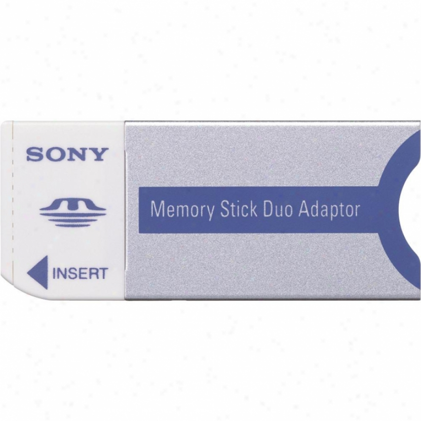 Sony Msac-m2 Memory Stick&rsg; Duo Replacement Adaptor