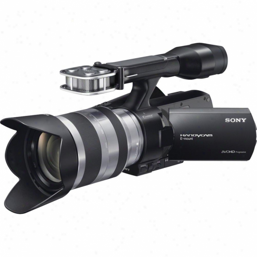 Sony Nex-vg20h Interchangeable Lens Hd Handycam&amp;reg; Camcorder With Lens