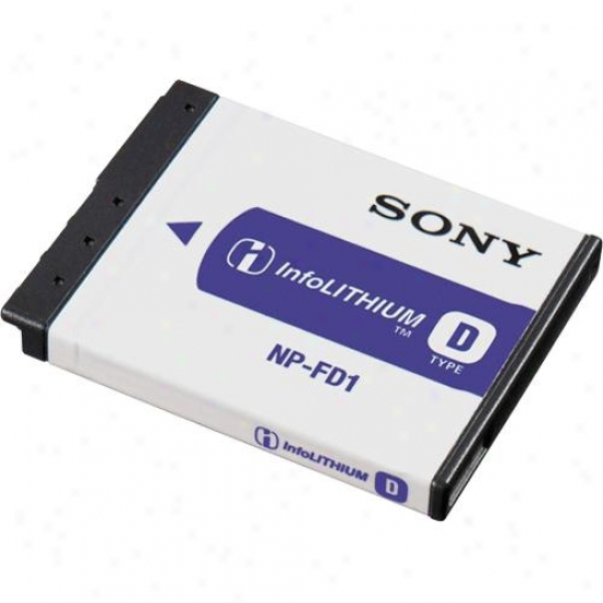 Sony Np-fd2 Infolithium® Rechargeable Battery Pack