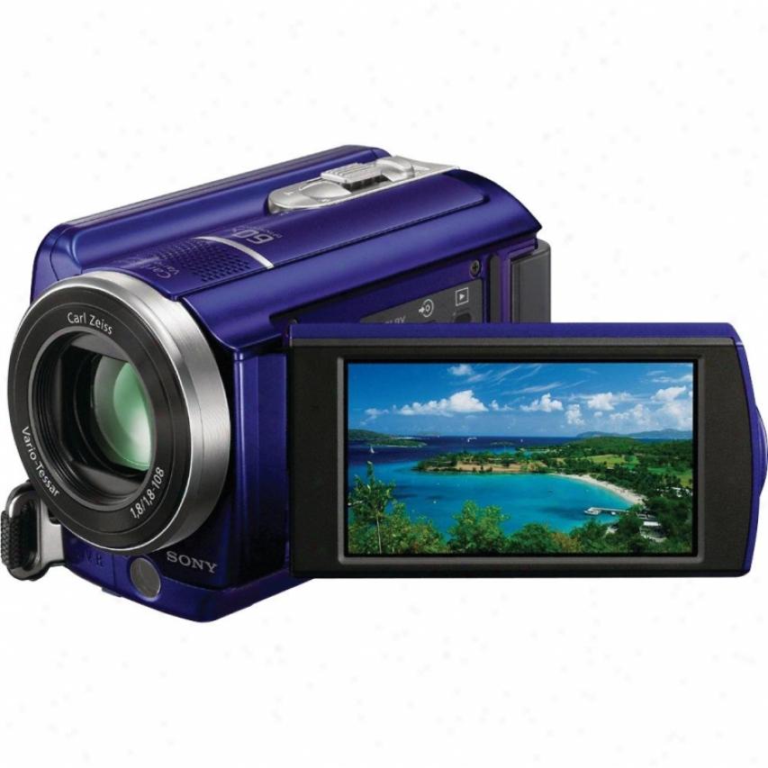 Sony Open Box Dcr-sr68/l 80gb Hdd Handycam® Camcorder - Blue